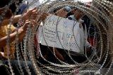 Aksi pelajar di Makassar