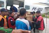 Dua jenazah korban penembakan KKB di Ilaga diterbangkan ke Mimika