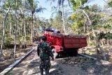 Material Jalan Makadam Cilacap terus ditambah