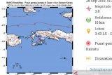 Gempa bermagnitudo 3,0 goncang Kairatu Maluku