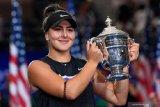 Cedera lutut, Bianca Andreescu mundur dari turnamen WTA Finals