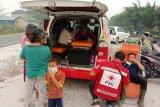 PMI Kotim bantu warga korban asap