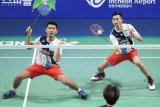 Korea Open 2019 -- Fajar/Rian hadapi Takeshi/Keigo di final