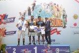 Daniel Frans raih gelar juara Rhino Cross Triathlon
