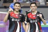 Fajar/Rian ke semifinal Malaysia Masters usai tundukan Minions