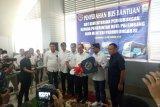 Menhub  serahkan 10 unit BRT ke Pemkot Palembang