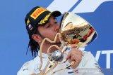Juara GP Rusia, Hamilton akhiri kemenangan beruntun Ferrari