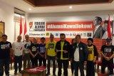 Relawan Forum Alumni Bersatu berkomitmen kawal Jokowi-Ma'ruf