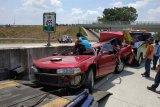 Kecelakaan maut Tol Bawen-Salatiga tewaskan tiga orang, Polda olah TKP