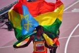 Pelari Ethiopia pertahankan gelar juara dunia 5.000m putra