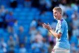 Guardiola khawatir Bruyne absen panjang akibat cedera