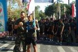 Seorang prajurit TNI berlari sejauh 374 kilometer sambut HUT TNI