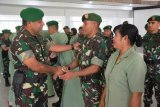 1.135 personel Kodam Cenderawasih naik pangkat