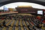 Presiden Jokowi hadiri pelantikan anggota DPR DPD MPR