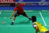 Kalahkan atlet muda Singapura, Sony Dwi Kuncoro melaju ke babak dua Indonesia Masters 2019