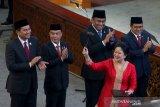 Pimpinan DPR temui Presiden bahas nomenklatur kabinet