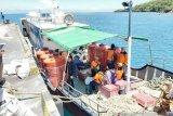 BPBD Kabupaten Sangihe distribusikan ribuan liter air bersih ke pulau