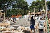 DPR baru sudah dilantik, pembangunan rumah dinas tambahan belum rampung