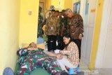 Bupati Lutim apresiasi donor darah TNI