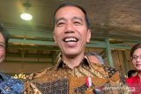 Presiden Jokowi pimpin Upacara HUT Ke-74 TNI