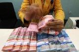 Transaksi Rupiah akhir pekan menguat di tengah mata uang Asia terkoreksi