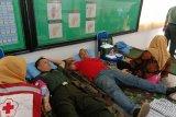 Sambut HUT ke-74 TNI, Kodim Waykanan gelar donor darah