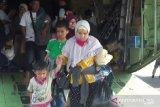 50 pengungsi dari Wamena tiba di Magetan Jatim