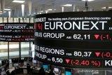 Bursa saham Paris anjlok