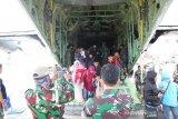Pengungsi Wamena Papua sebagian sudah dipulangkan ke Surabaya dan Makassar