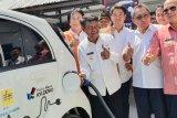 Dibangun SPLU untuk mobil listrik di NTT