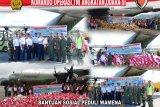 Pangkoopsau III Biak berangkatkan 14 ton bantuan Presiden dan KSAU ke Wamena