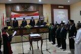 Empat pimpinan definitif DPRD Kabupaten Temanggung dilantik
