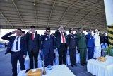 Para pejabat Sulsel hadiri peringatan HUT ke-74 TNI