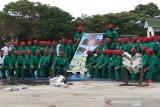 HUT TNI, Yonif 725 Woroagi tampilkan atraksi Yongmoodo