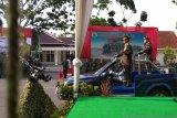 Parade budaya meriahkan HUT Ke-74 TNI di Pekanbaru