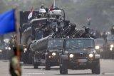 TNI kerahkan alutsista saat latihan di Pertamina Dumai