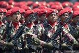 6.806 prajurit ikuti parade HUT ke-74 TNI