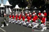 Kolone senapan warnai HUT TNI di Temanggung