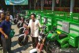 Kementerian LHK serahkan 35 motor pengangkut sampah kepada masyarakat