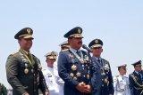 Panglima TNI Marsekal TNI Hadi Tjahjanto: Drone CH4 jadi pembeda peringatan HUT Ke-74 TNI