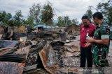 TNI-Polri bersama masyarakat kerja bakti pascakerusuhan Wamena