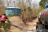PMI Bantul bantu air bersih 329 tangki selama kemarau
