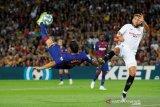 Barcelona tekuk Sevilla 4-0 meski dua pemainnya diusir wasit