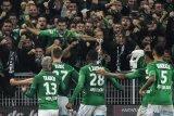 Liga Prancis -- Lyon kian terpuruk, kalah menyakitkan di markas Saint-Etienne