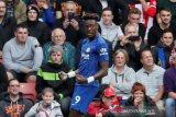 Pimpin daftar top skor Liga Inggris, Abraham samai koleksi gol Aguero