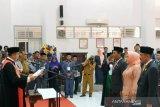 Tiga Pimpinan DPRD Banggai diambil sumpah