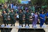 TNI Tanam serentak 300.074 mangrove dari Sabang sampai Merauke