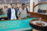 Polisi tetapkan 91 tersangka dalam kasus kasino terselubung