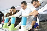 BNNP Kalimantan Selatan musnahkan 635 gram sabu-sabu dan 523 ekstasi