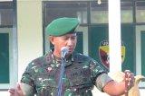 Dandim Loteng minta prajurit TNI jangan sakiti hati rakyat
